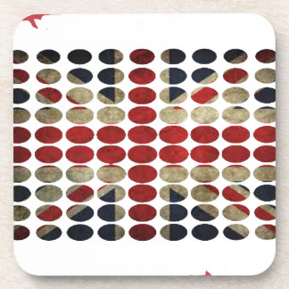 ENGLAND DIRTY FLAG PRODUCTS BEVERAGE COASTERS