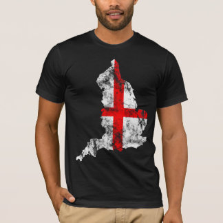 England Distressed Flag T-Shirt