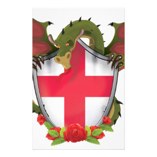 England Dragon Stationery