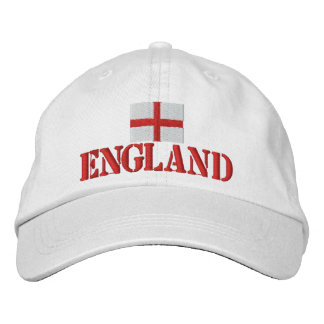 England Embroidered Baseball Cap