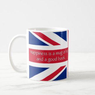 England English Flag Happiness Tea Good Book Coffee Mug