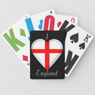 England English Flag Poker Cards
