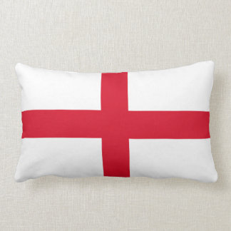 England English Flag St George Cross Lumbar Pillow
