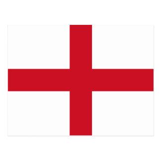 England – English National Flag Postcard
