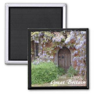 England, Exeter - Secret Garden (Magnet) Magnet