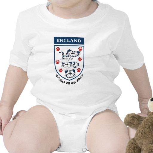 England Felines On My Shirt Romper