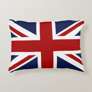 England Flag 3 Accent Pillow