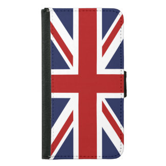 England Flag 3 Wallet Phone Case For Samsung Galaxy S5