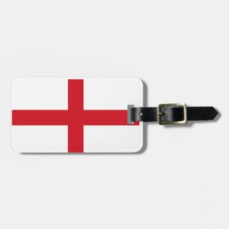 England flag bag tag