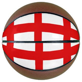 England Flag Basketball