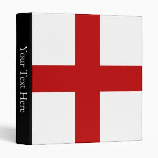 England Flag Binder