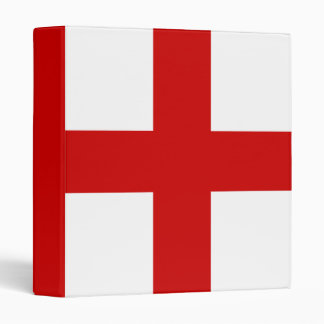 England Flag Binder