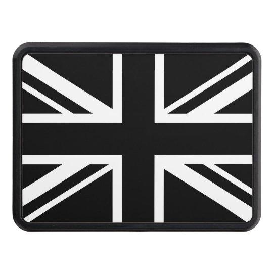 England Flag Black White Tow Hitch Cover | Zazzle.com