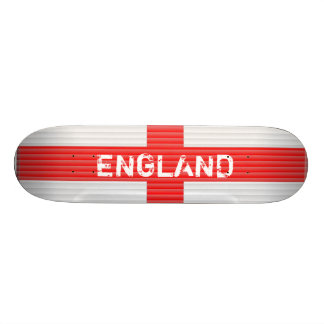 England Flag,Blinds texture St Georges Cross Skate Board
