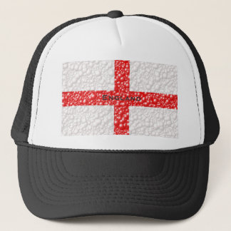 England Flag Bubble Textured Trucker Hat