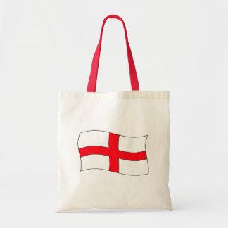England Flag Budget Tote Bag