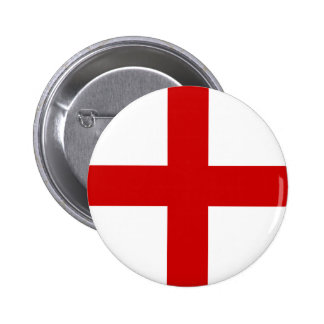 England Flag Pinback Buttons