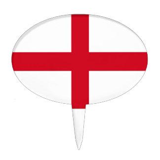 England Flag Cake Topper