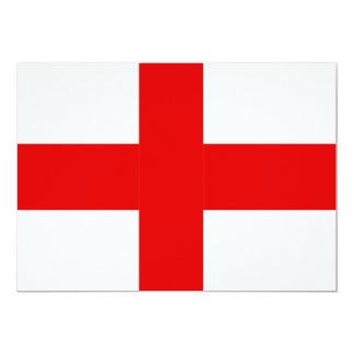 England Flag Card