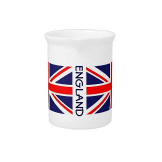 England-Flag-classic Beverage Pitcher