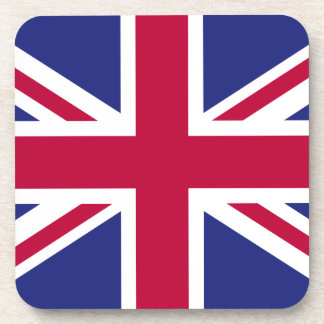 England Flag Beverage Coaster