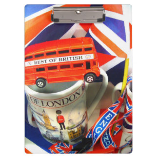 England Flag Country Art Fun Colors Destiny Office Clipboard