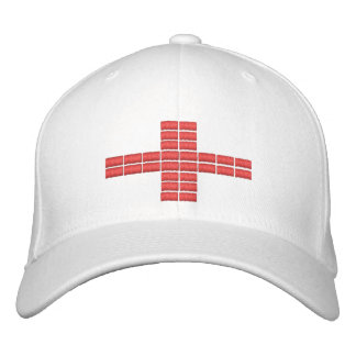 England Flag Embroidered Hat 1