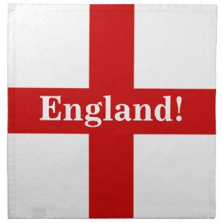 England Flag - Engerland! Engerland! Printed Napkin