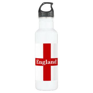 England Flag - Engerland! Engerland! 24oz Water Bottle