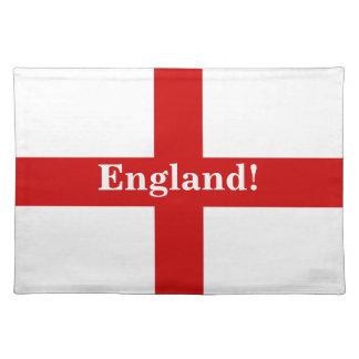England Flag - Engerland! Engerland! Cloth Place Mat