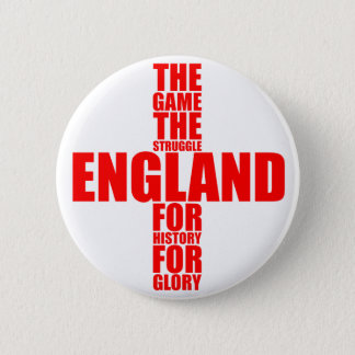 England Flag Football Team Pinback Button