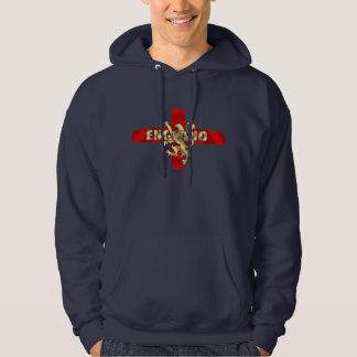 England flag Gold logo lion fun artwork gifts Sweatshirt