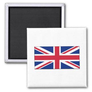 England FLAG International 2 Inch Square Magnet