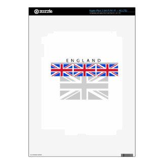England Flag iPad 3 Skin