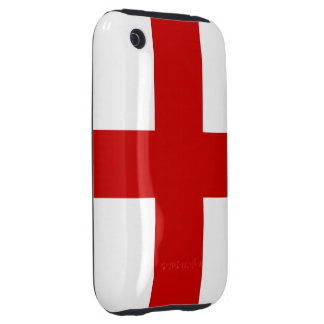 England Flag iPhone 3 Tough Cases