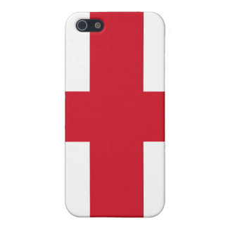 England Flag iPhone Case For iPhone SE/5/5s