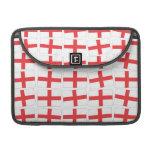 England Flag Macbook Pro Sleeve