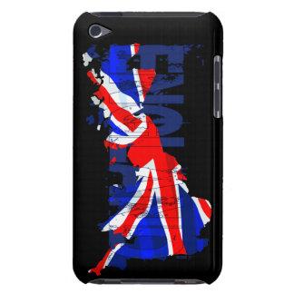 England Flag Map 02 iPod Case