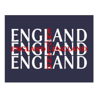 England - Flag of St George Postcard