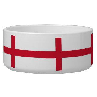 England Flag Pet Bowl