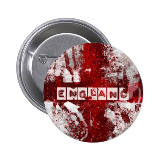 England flag pinback button