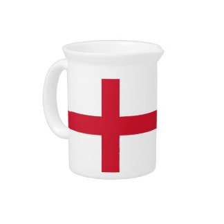 England Flag Pitcher