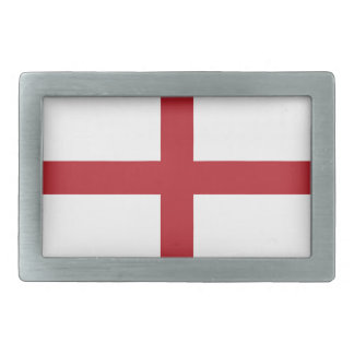 England flag rectangular belt buckle