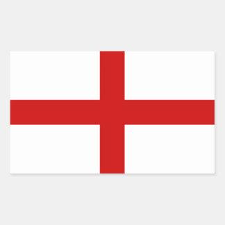 England Flag Rectangular Sticker