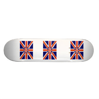England Flag Skateboard Deck