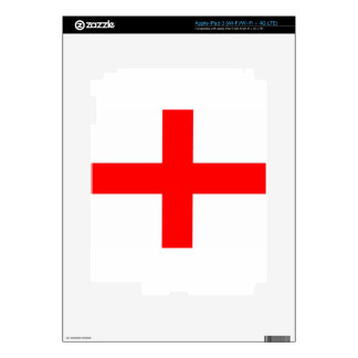 England Flag Decals For iPad 3