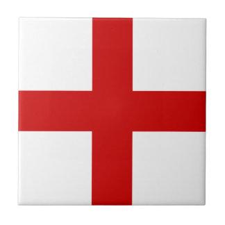 England Flag Tile