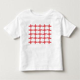England Flag Toddler Tee Shirt