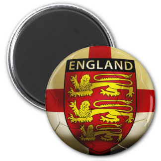 England Football 2 Inch Round Magnet