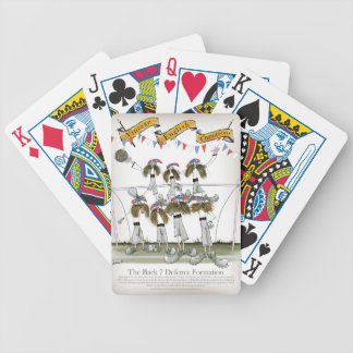 england football defenders bicycle playing cards